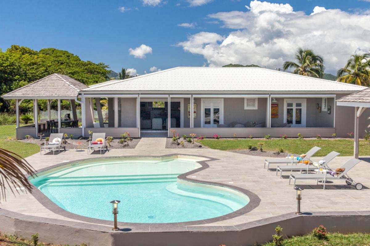 Extra Villa Luxore in Martinique – Le Vauclin - Sun Villa ...